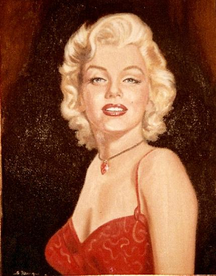 Marilyn Monroe by wisewyn